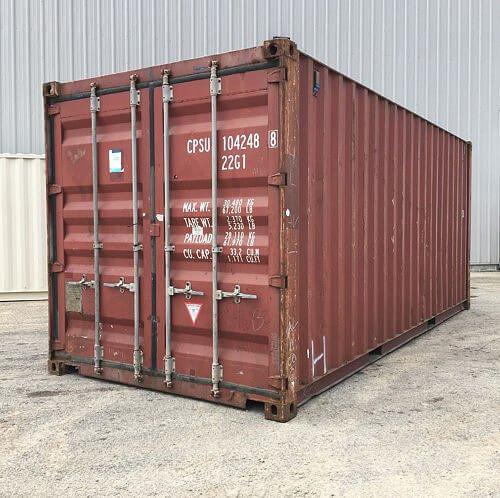 & 20 Ft Used Storage Container - Mobile Maxx Peoria Illinois