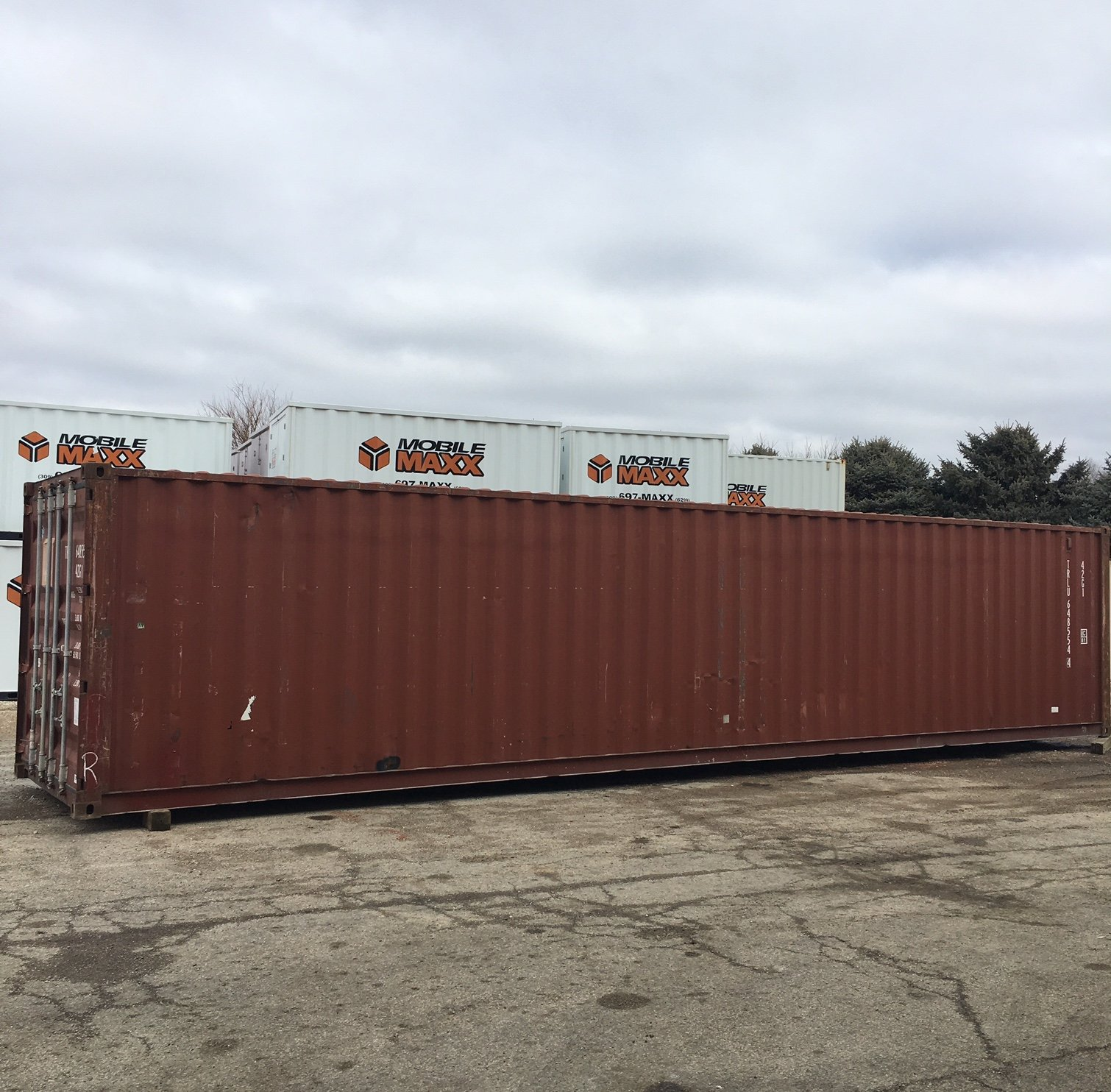 40 Ft Used Storage Container - Mobile Maxx Peoria, Illinois